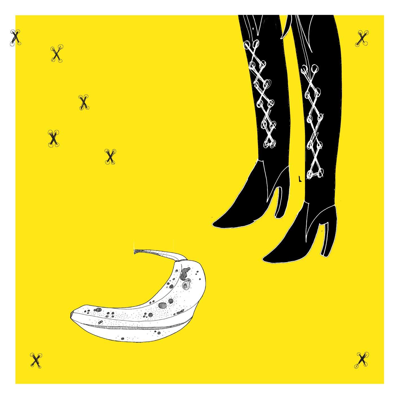 Banana Boots Poster