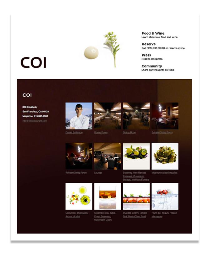 Coi Restaurant